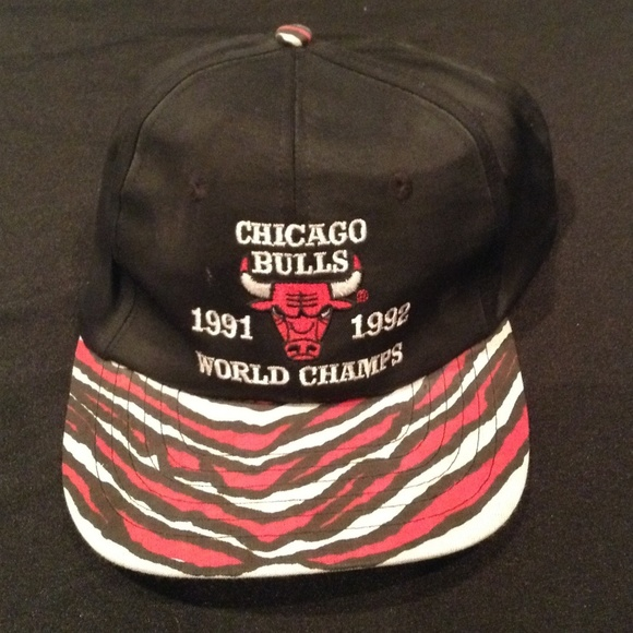 0cdb661732e97b Accessories | Chicago Bulls 19911992 Nba Champions Snapback Hat ...